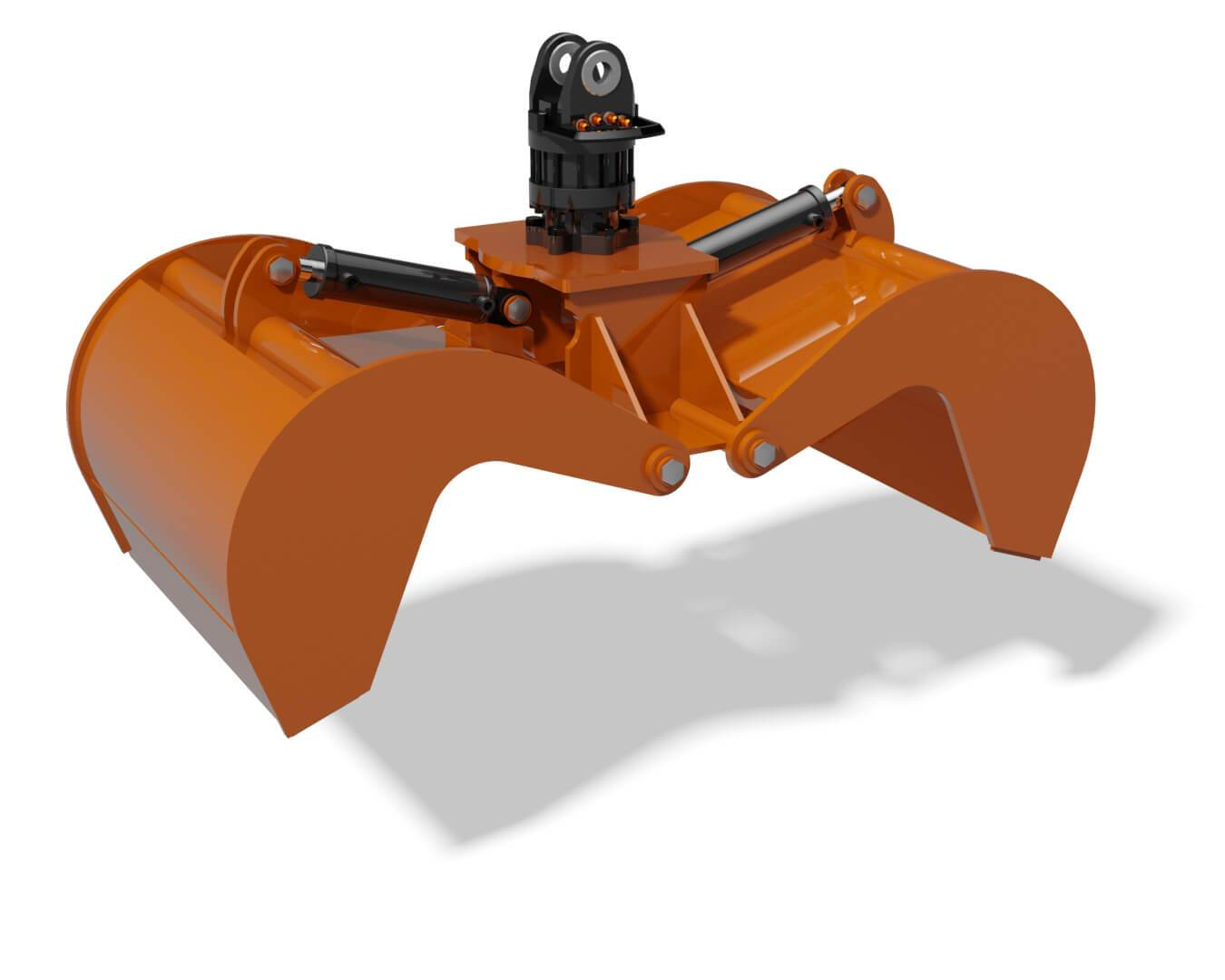 Clam Grapple Rendering