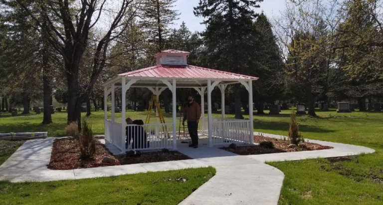 gazebo 18 ft square