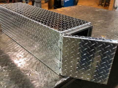 aluminum shovel box