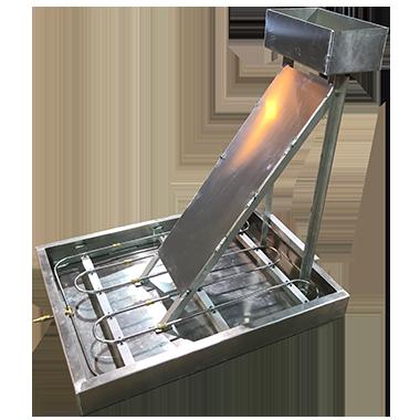 welding - aluminum fire training pan