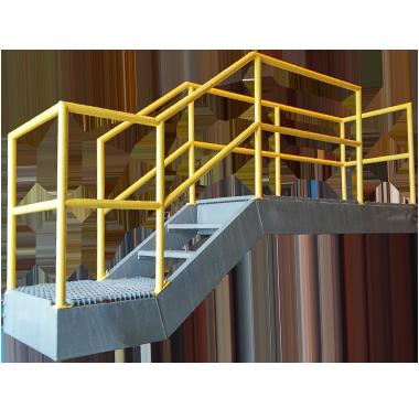 welding - catwalk section