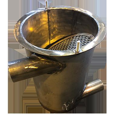 welding - stainless steel filter