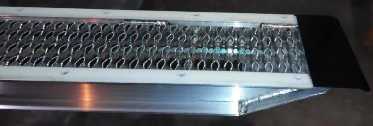 high density polyethylene slide rails