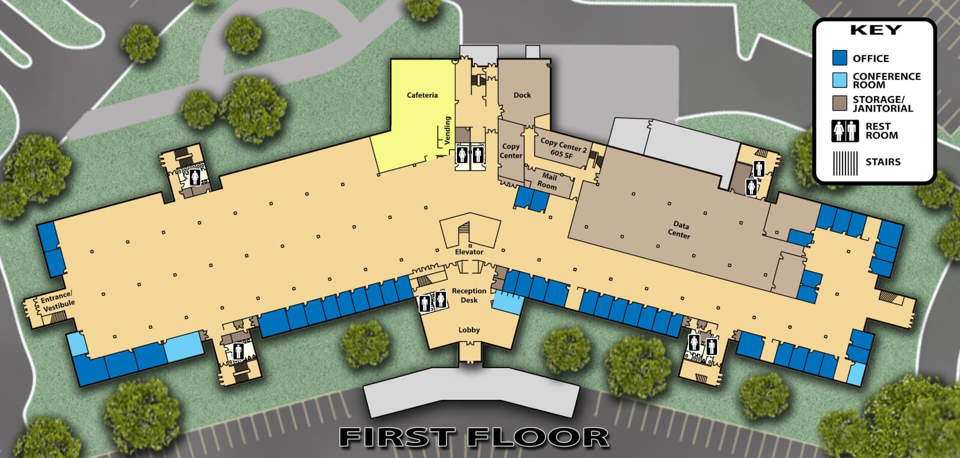 cad services - floor plan graphic
