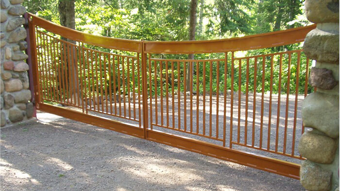 aluminum security gate
