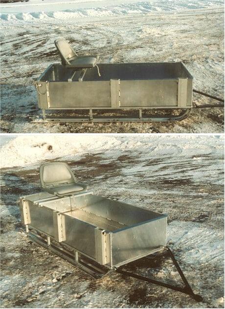 aluminum utility sled