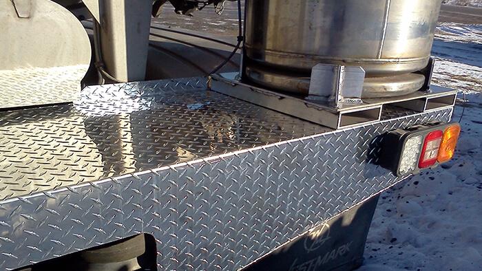 aluminum flatbed repair