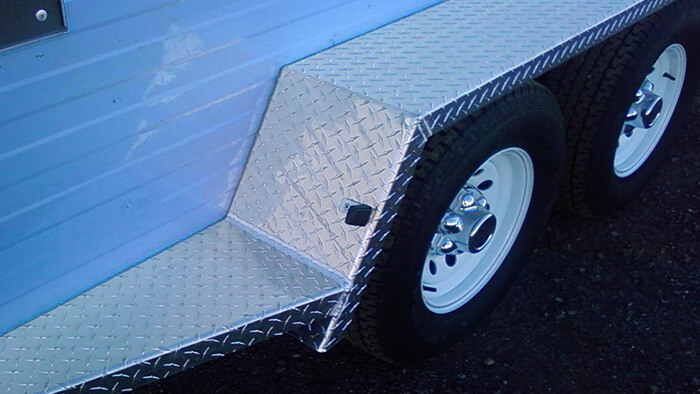 replacement fenders on trailer