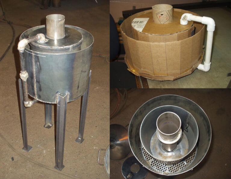 prototype biomass torrefier