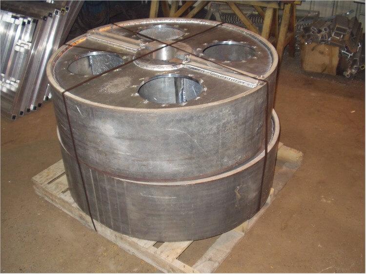aluminum drum