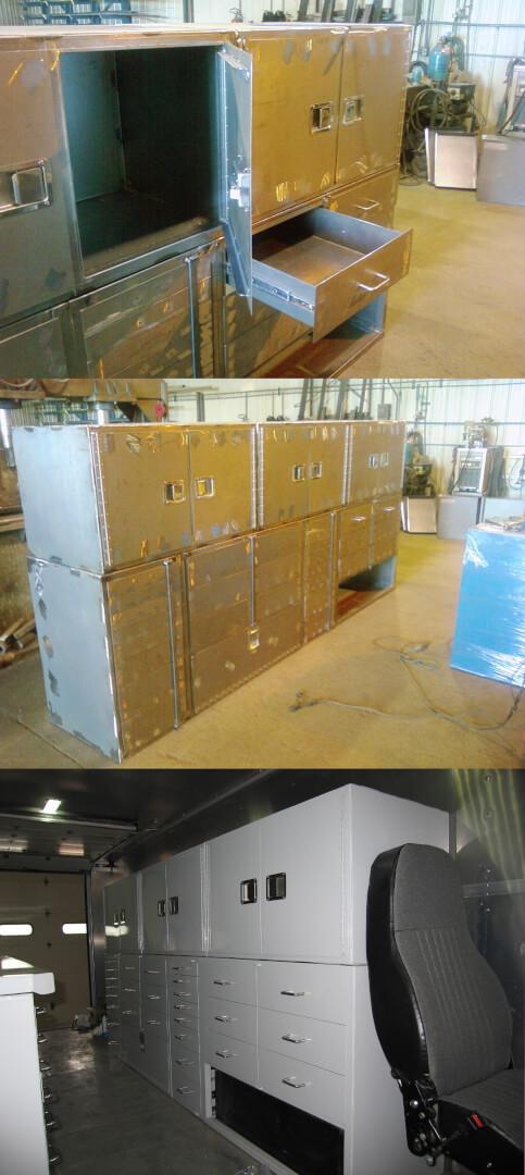 locksmith truck cabinets