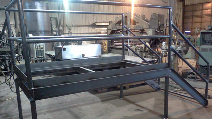 steel access platform
