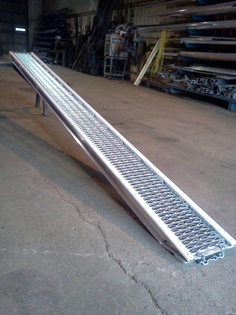 aluminum speed ramp