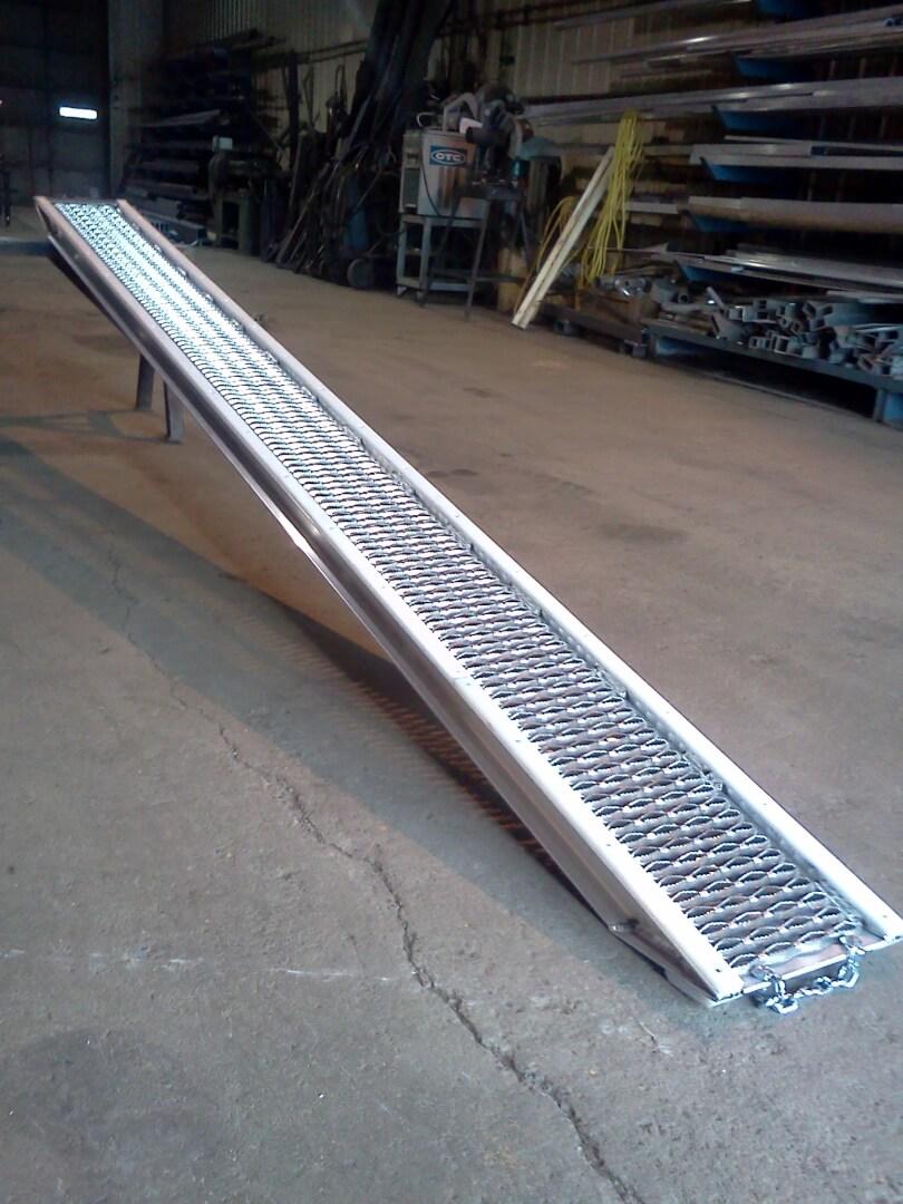 dolly slide ramp