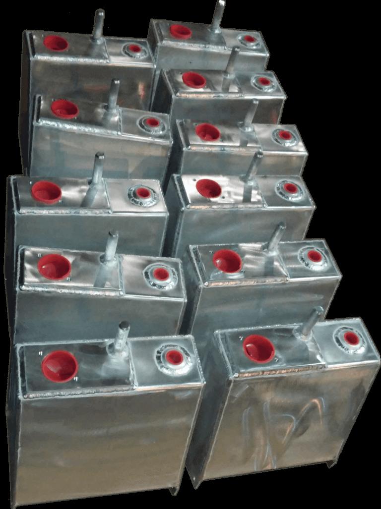 aluminum hydraulic tanks