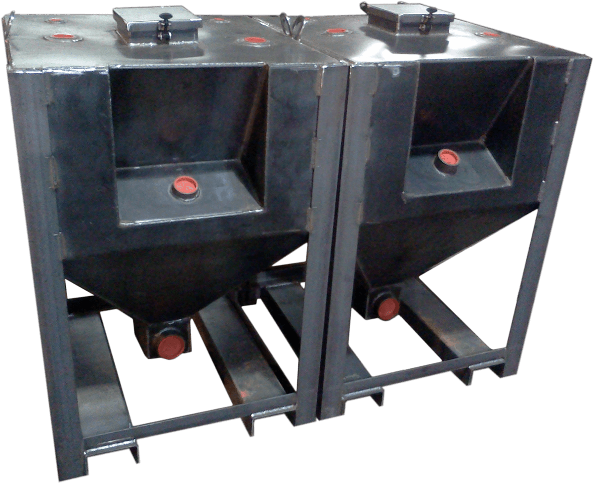 tapered bottom grease tanks
